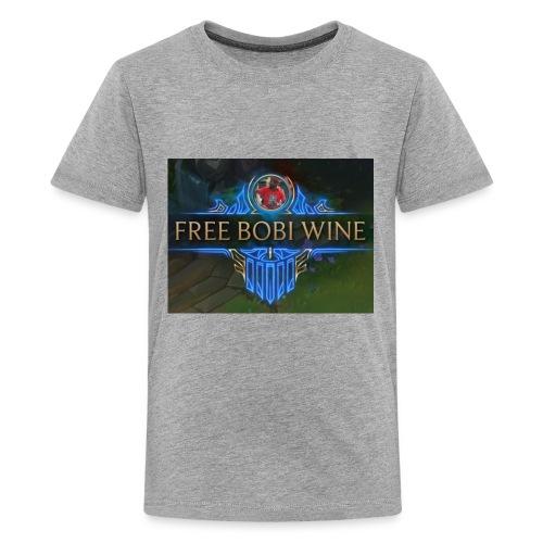 FREE BOBI WINE - Kids' Premium T-Shirt