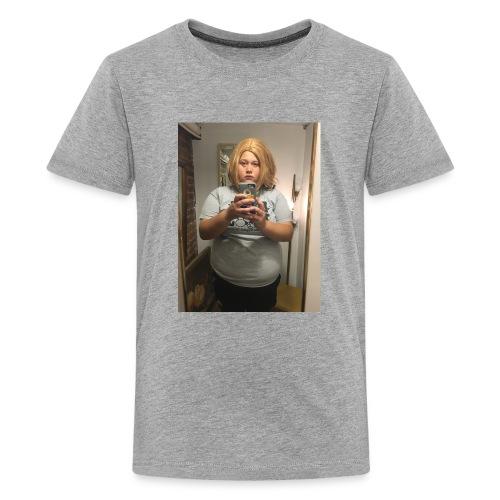 21savagesummer wearing a wig - Kids' Premium T-Shirt