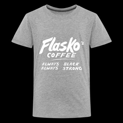 Flasko Coffee - Kids' Premium T-Shirt