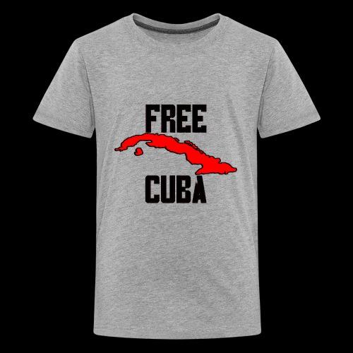 Free Cuba Red - Kids' Premium T-Shirt