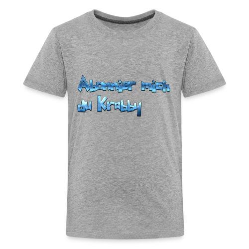 Itz_co11mme Abonnier mich du K**** - Kids' Premium T-Shirt