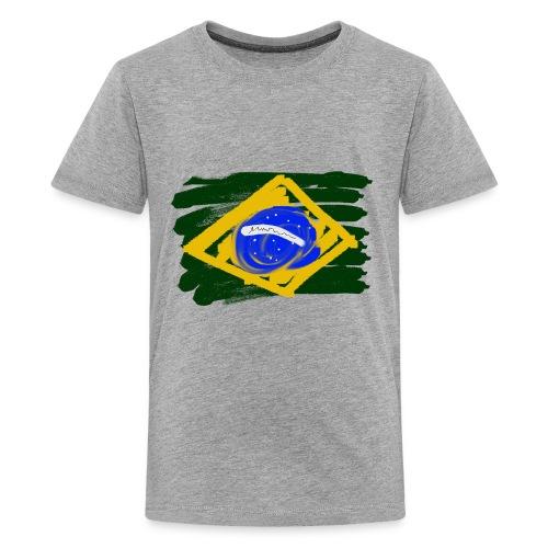 Brazilian Flag - Kids' Premium T-Shirt