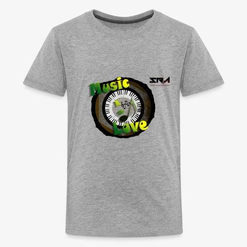 Music Is Love - Kids' Premium T-Shirt