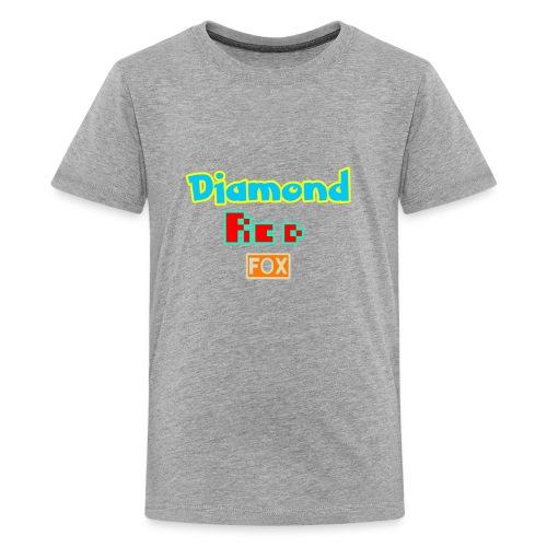 Diamond red fox official - Kids' Premium T-Shirt