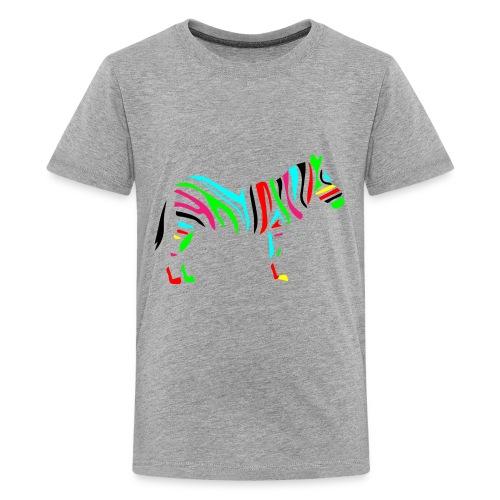 Wild_zebra - Kids' Premium T-Shirt