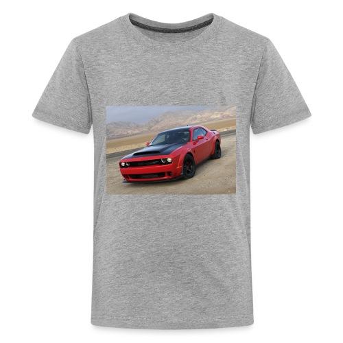 2018 Dodge Demon Prairie Front - Kids' Premium T-Shirt