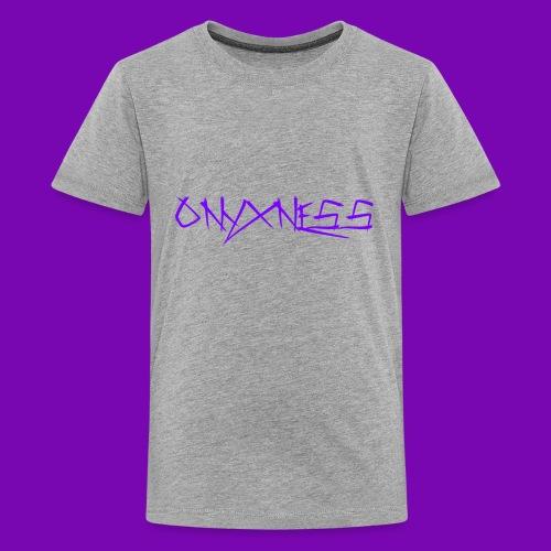 OnyxNess (Purple) - Kids' Premium T-Shirt