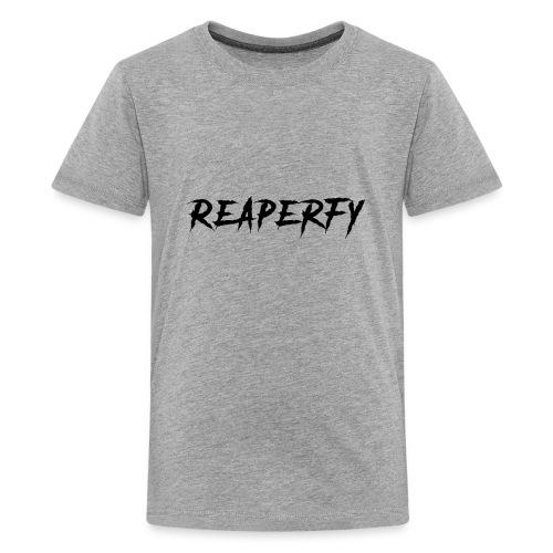 Reaperfy Transparent Logo Black - Kids' Premium T-Shirt