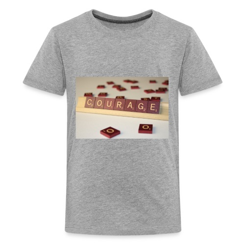 Be Courageous in LifeT-Shirt - Kids' Premium T-Shirt