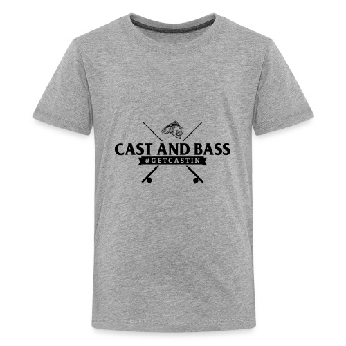 Cast and Bass - Kids' Premium T-Shirt