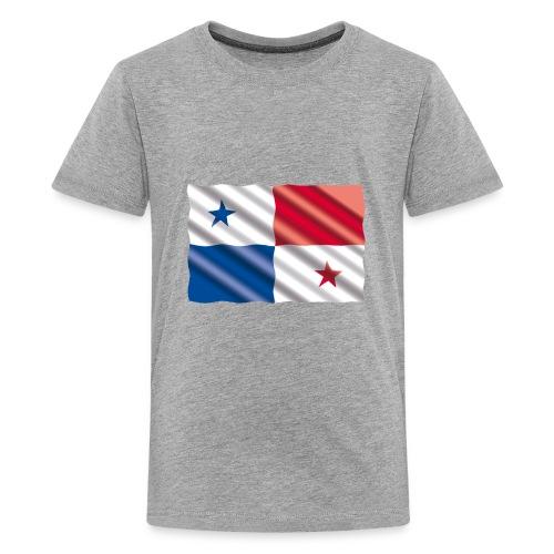 Bandera de Panamá - Kids' Premium T-Shirt
