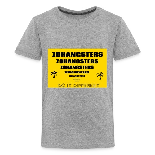 Big To Small ZOHANGSTERS TEE - Kids' Premium T-Shirt