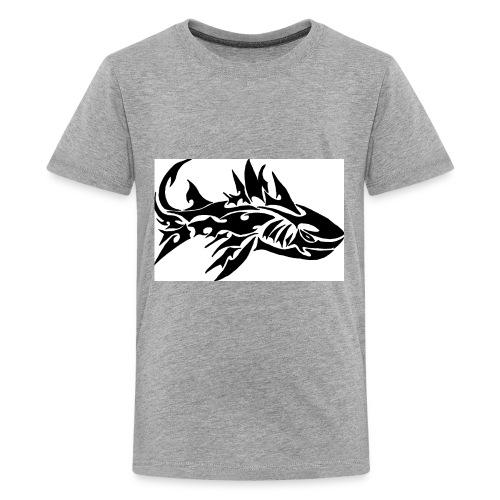 tribal shark2 - Kids' Premium T-Shirt