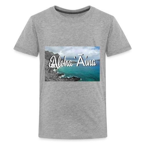 Aloha `Āina - Kids' Premium T-Shirt
