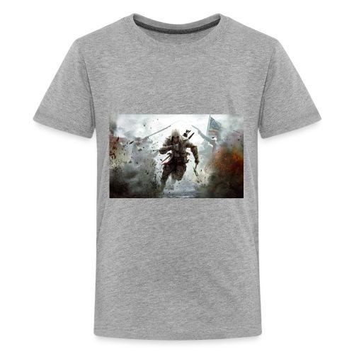 assassins creed 3 - Kids' Premium T-Shirt