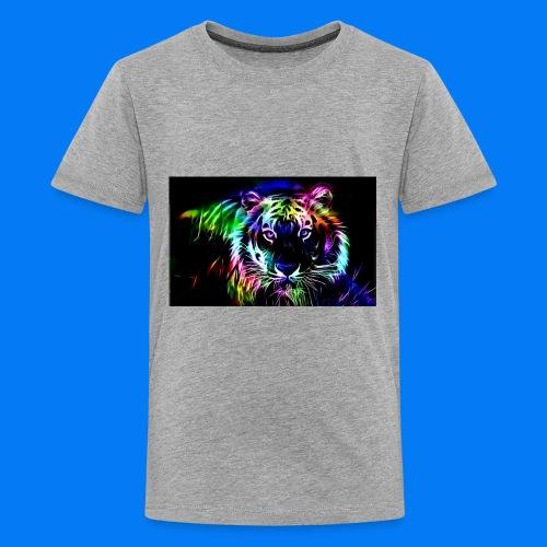 Rainbow tiger! - Kids' Premium T-Shirt