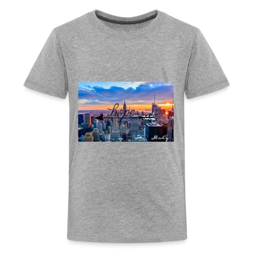 FF9CD9DE A8FD 4B96 B97A 79ADC34FDA3F - Kids' Premium T-Shirt