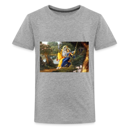 Radha Krishna Wallpaper 1440x900 - Kids' Premium T-Shirt