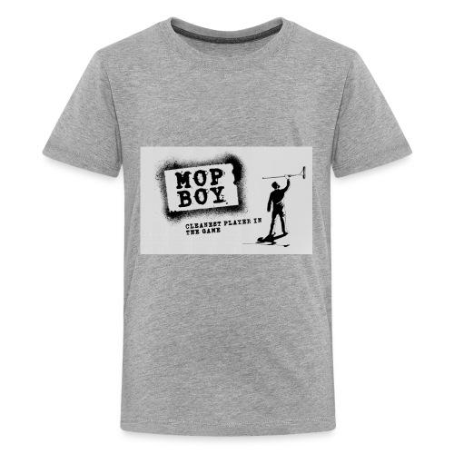 Cleanest Player White - Kids' Premium T-Shirt
