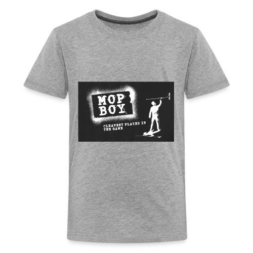 Cleanest Player Black - Kids' Premium T-Shirt