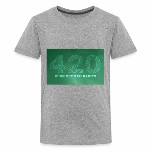 drug free 420 weed - Kids' Premium T-Shirt