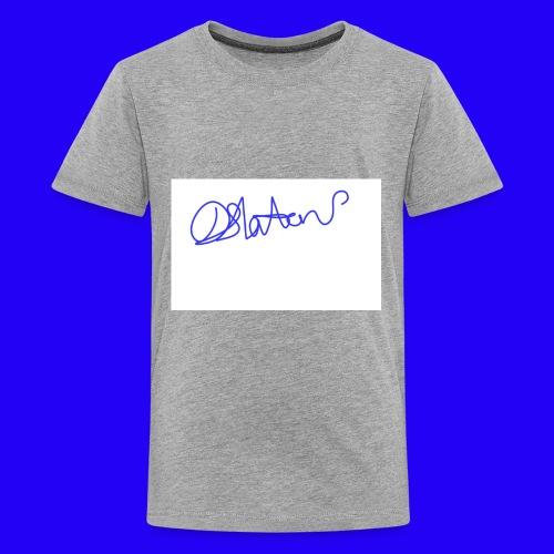 DS Vlogs Signature - Kids' Premium T-Shirt
