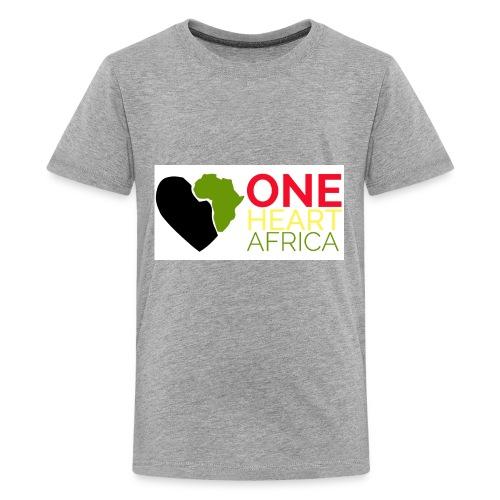 ONE HEART AFRICA - Kids' Premium T-Shirt