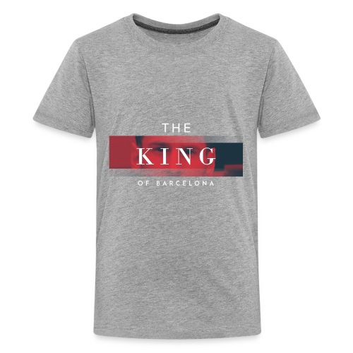 /Leo Messi King Desgn/ - Kids' Premium T-Shirt