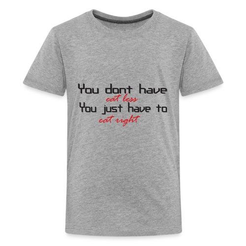 eatless - Kids' Premium T-Shirt