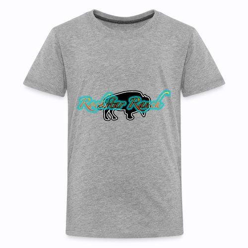 buffalo blacknturq - Kids' Premium T-Shirt