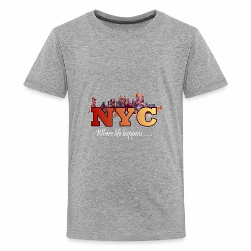 nyc splash - Kids' Premium T-Shirt