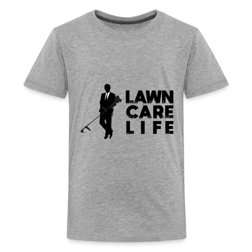 Lawn Care Life with Man - Kids' Premium T-Shirt