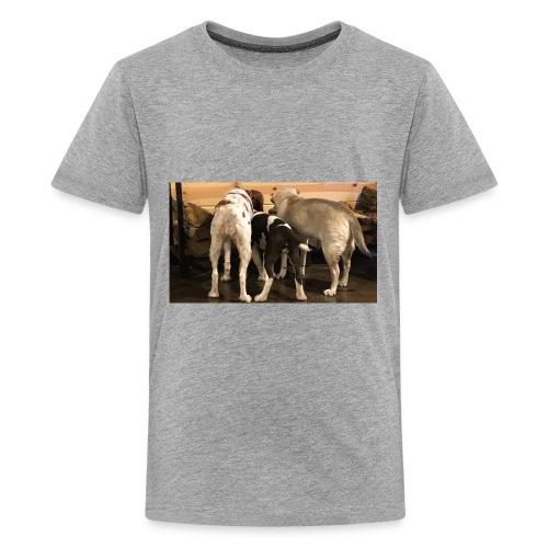 Curious Bird Dogs - Kids' Premium T-Shirt