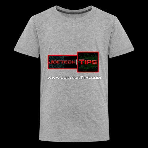 JoeteckTips - Kids' Premium T-Shirt