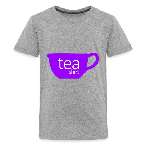 Tea Shirt Simple But Purple - Kids' Premium T-Shirt