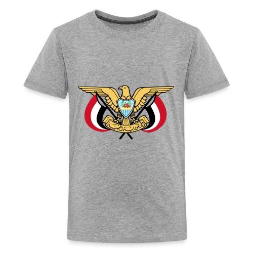 Emblem of Yemen svg - Kids' Premium T-Shirt