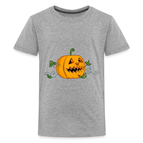 THE HALLOWEEN PUMPKIN - Kids' Premium T-Shirt