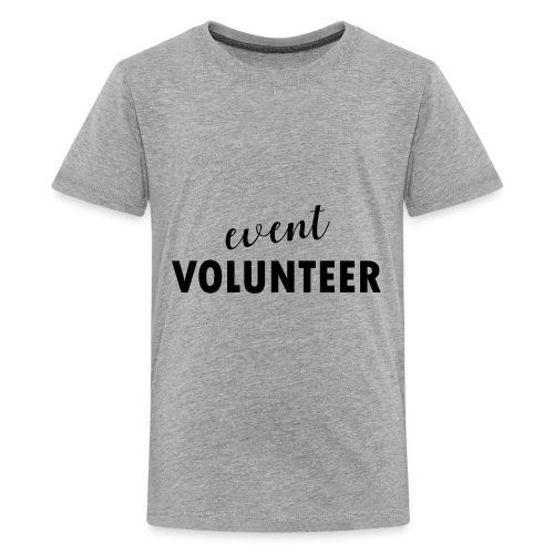 event volunteer - Kids' Premium T-Shirt