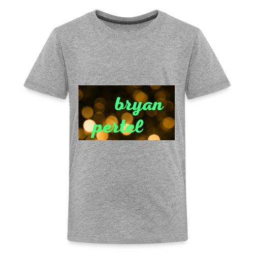 Bryan pertel - Kids' Premium T-Shirt