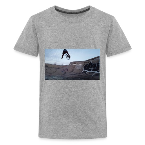 banner tshirt - Kids' Premium T-Shirt