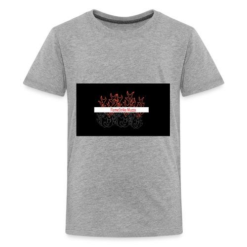 FLAMESTRIKEMuzzaSpring2016 logo - Kids' Premium T-Shirt