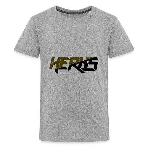 HerKs Military Text - Kids' Premium T-Shirt