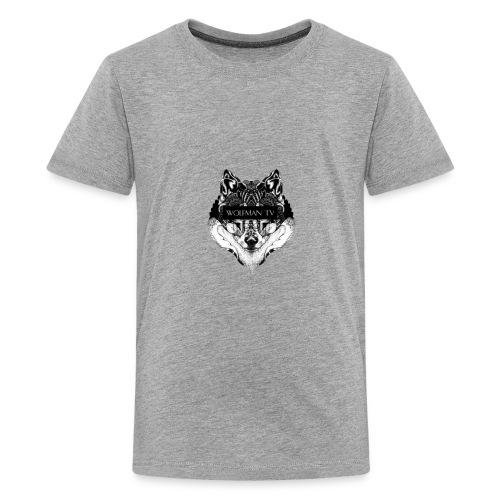 Alpha Wolf - Kids' Premium T-Shirt