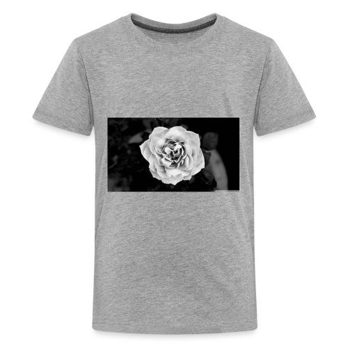White Rose - Kids' Premium T-Shirt