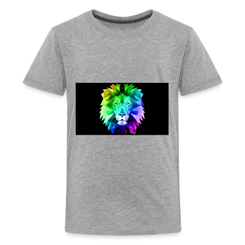 cool lion - Kids' Premium T-Shirt