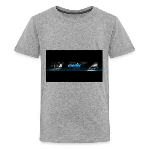 Poppalox Banner - Kids' Premium T-Shirt