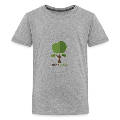 Think Green (naturecontest) - Kids' Premium T-Shirt