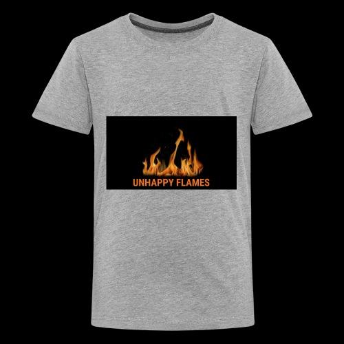 unhappy flames - Kids' Premium T-Shirt