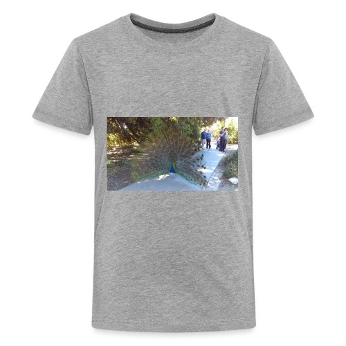 Peacock with wings - Kids' Premium T-Shirt