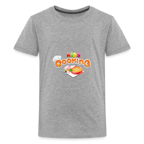 Kids Cooking - Kids' Premium T-Shirt